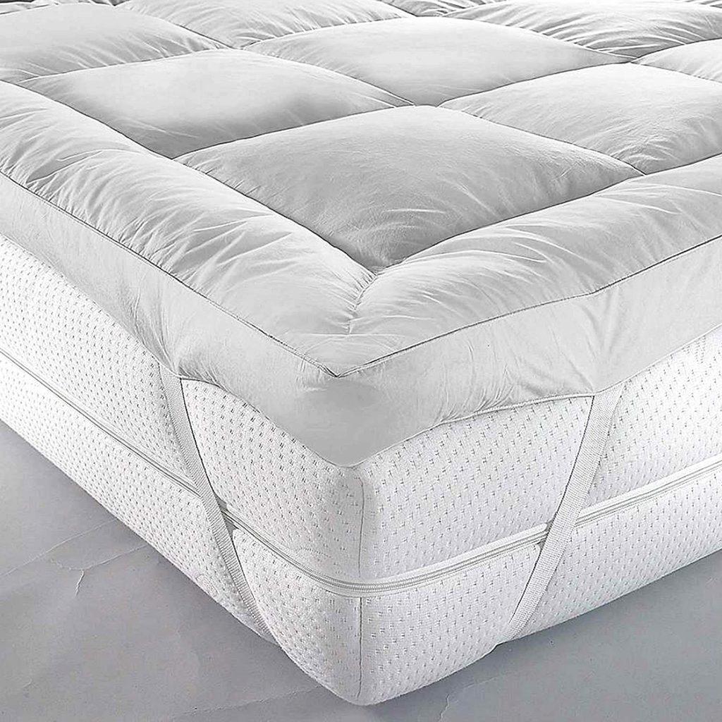 pillowtop mattress topper strap