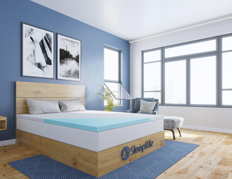 memory foam mattress topper gel ergolush_context