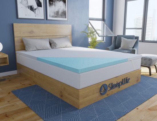 memory foam mattress topper gel ergolush_profile