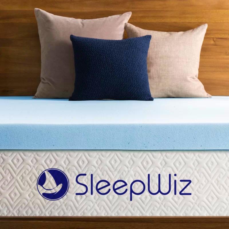 memory foam mattress topper gel infused 2