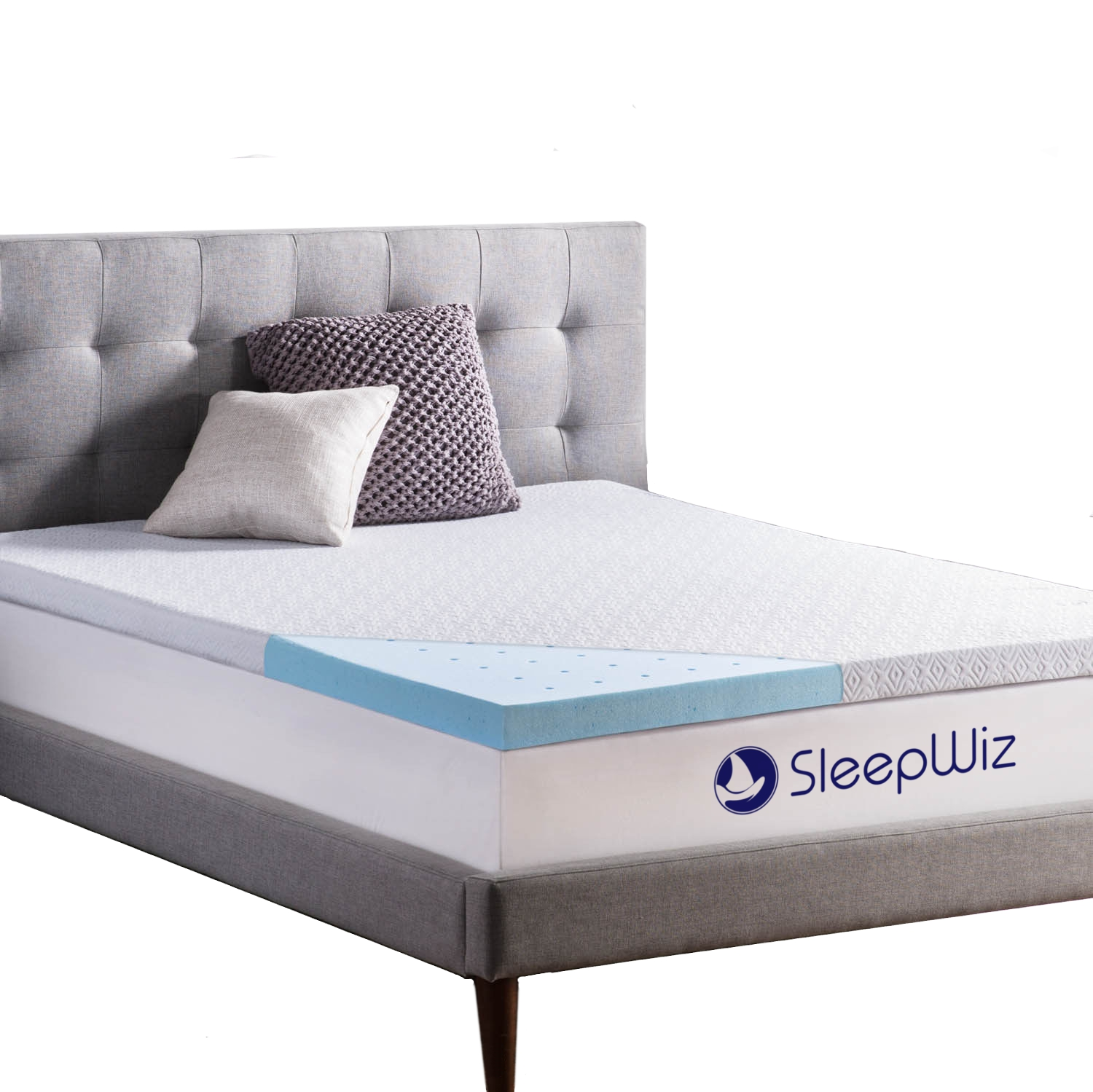 memory foam mattress topper gel infused