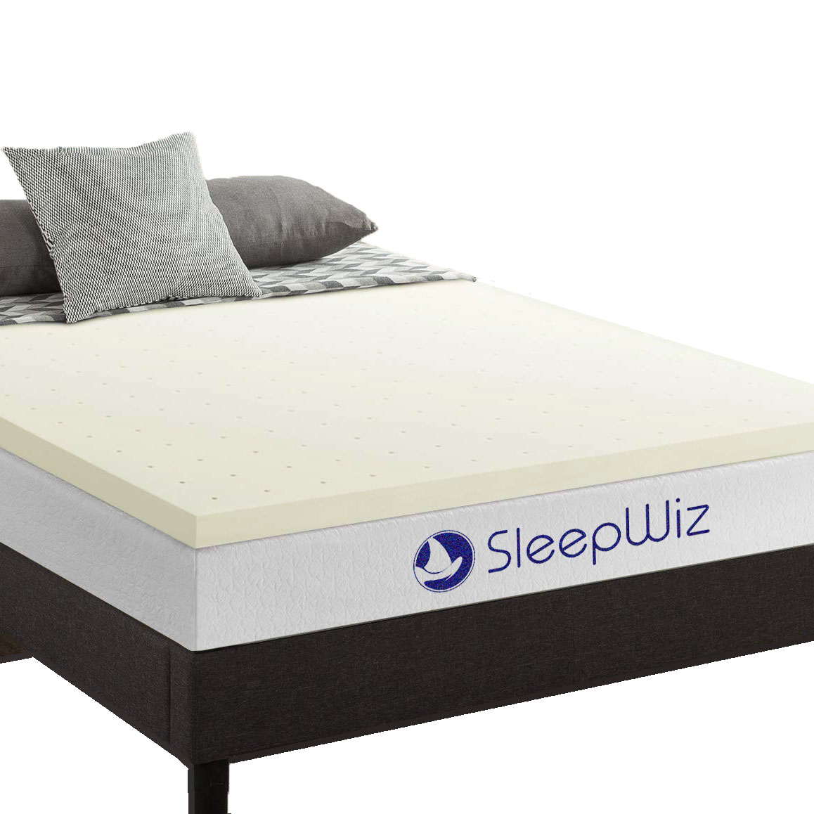 latex mattress topper Herculean SleepWiz main