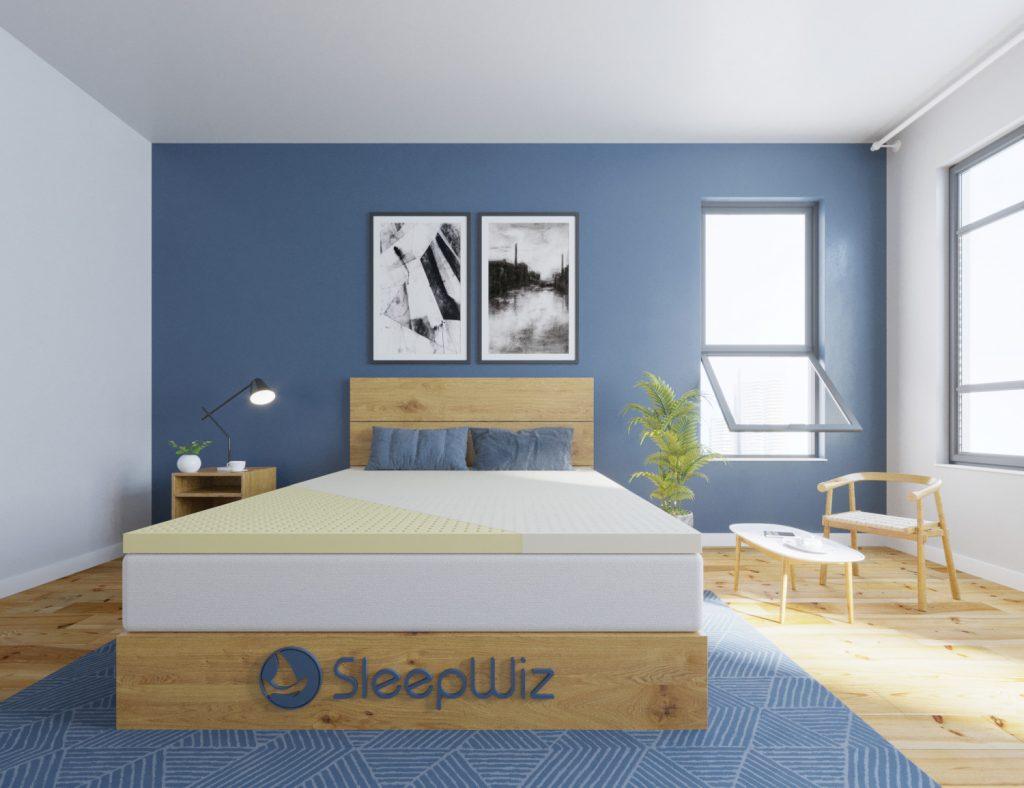 latex mattress topper natural herculean base