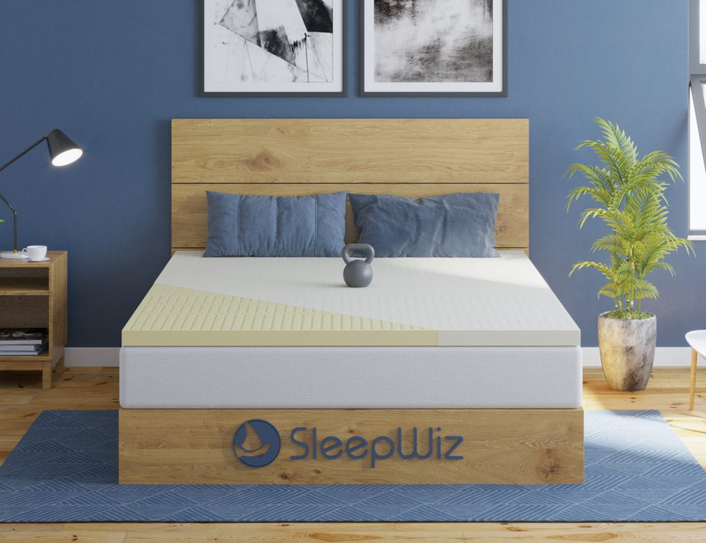 latex mattress topper natural herculean support